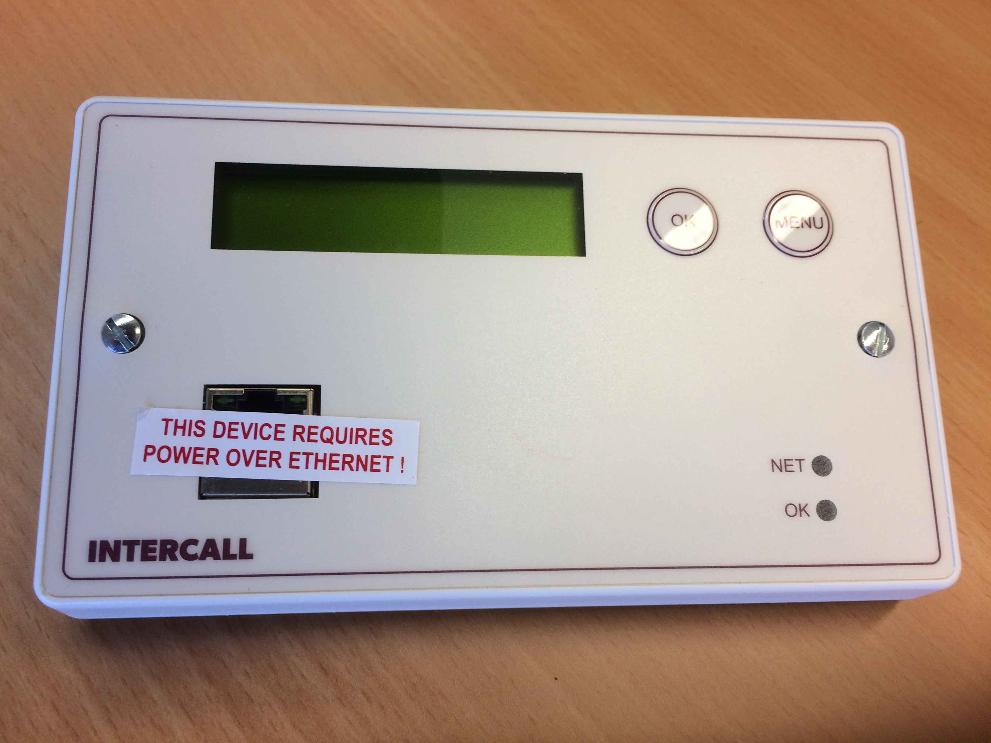 IP470 Intercall Call Logging Interface