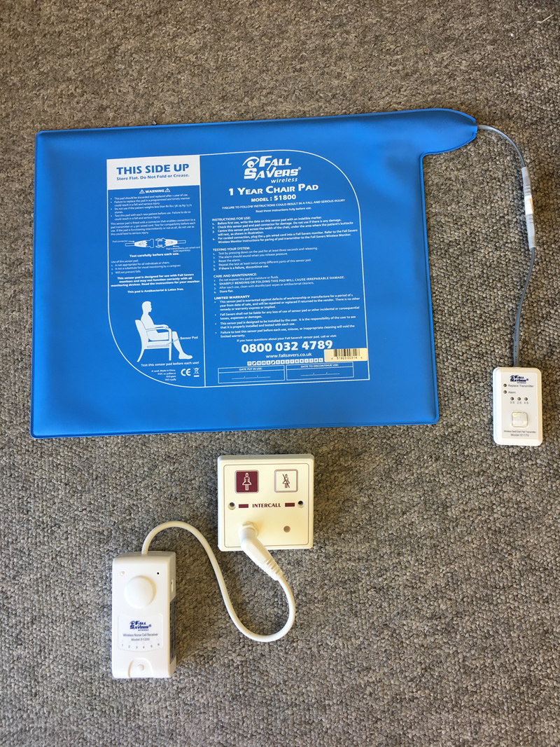 FallSavers Kit 1 - Lounge Remote Chair Monitoring