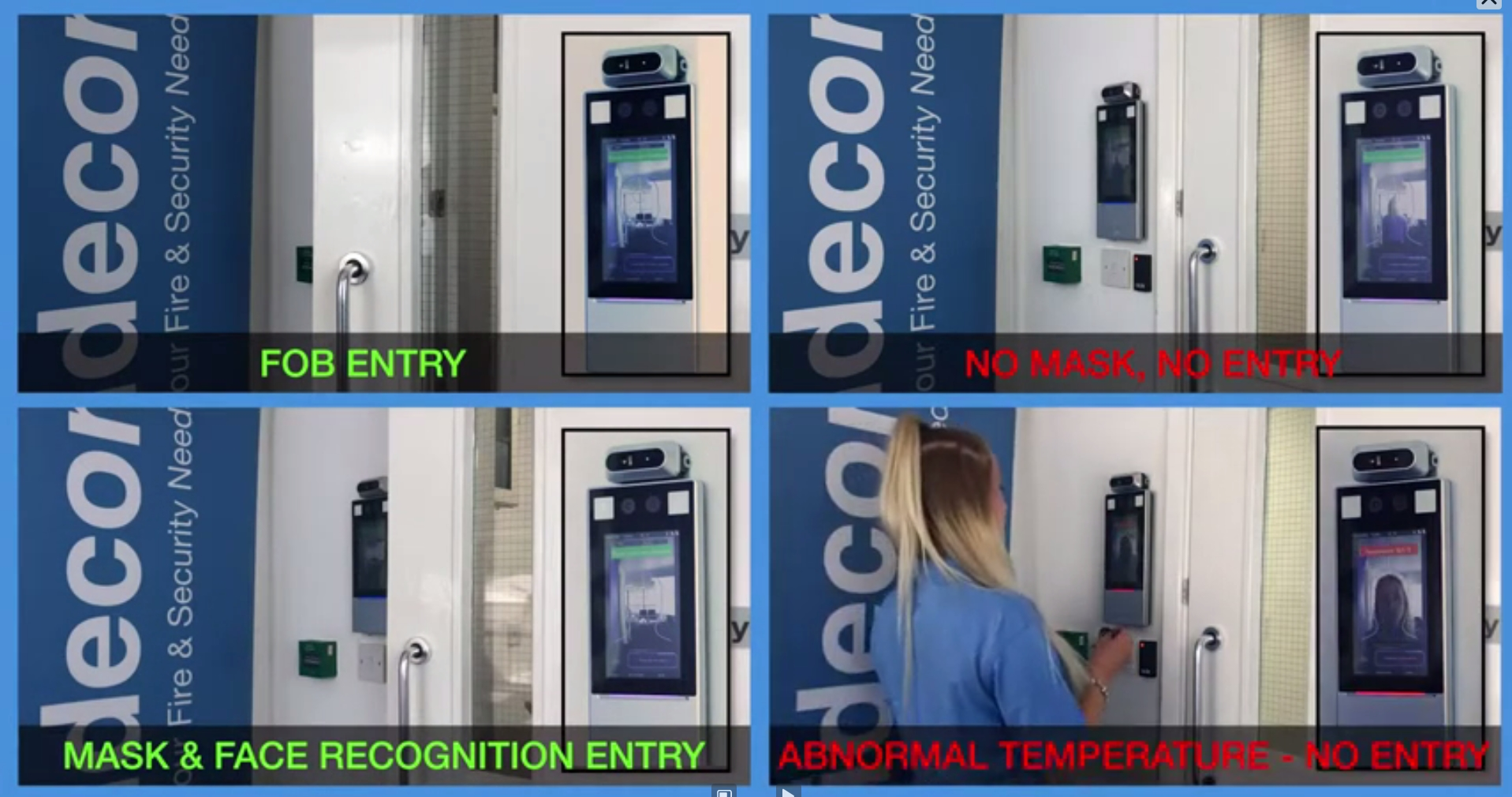 Thermal Analysis Access Control System
