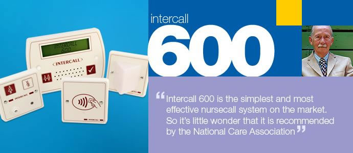 intercall 600 nursecall systems uk