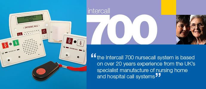 intercall 700 nursecall systems uk